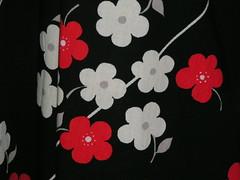 Hellång klänning från 1970-talet 2.