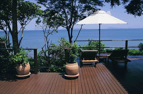 THV deck of villa 2