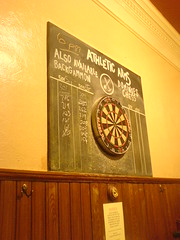 Dartboard at The Diggers (Athletic Arms), Edinburgh