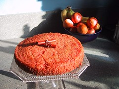 sicilian blood orange cake