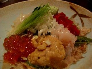 20060310 いっぱち寿司 めかぶスペシャル