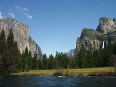 Yosemite Valley from bottom
