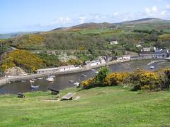 Cwm Abergwaun o Benslâd