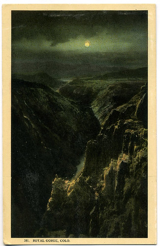 Postcard:  Royal Gorge ca. 1900-10