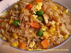 roast chic fried rice