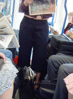 Twiggy Trousers Piccadilly Line