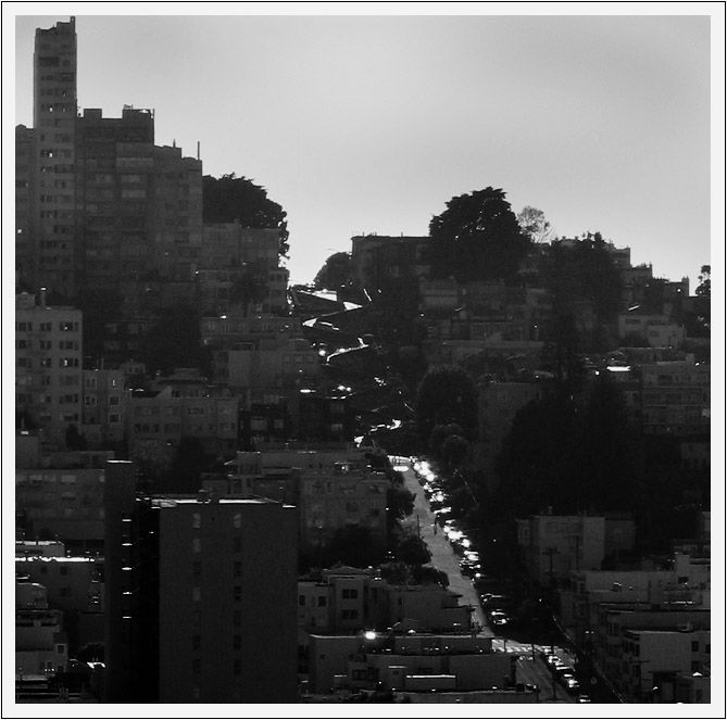 Lombard St. from Telegraph Hill