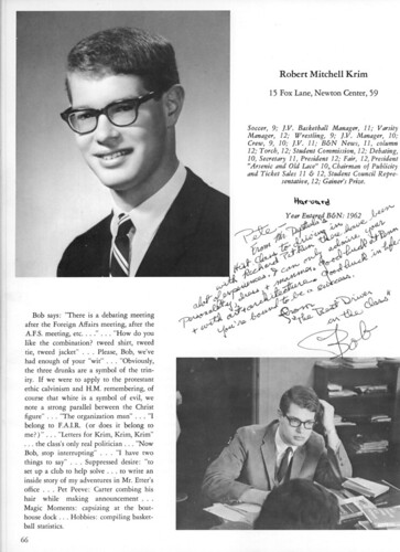 B&N yearbook 1966 page 0066