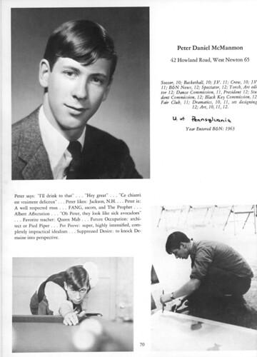 B&N yearbook 1966 page 0070