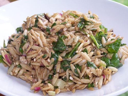 spinach and orzo salad recipe orzo salad with spinach and orzo spinach ...