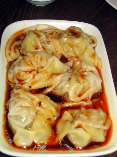 Spicy Wan Tan Dumplings