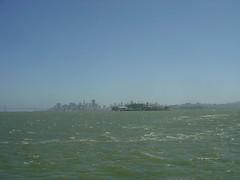 Behind Alcatraz