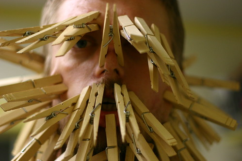 Clothespin Monster
