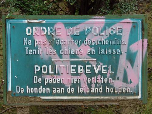 Ordre de police