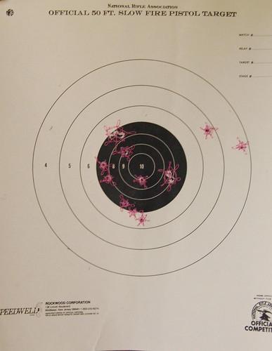 mended target :: petal stitch