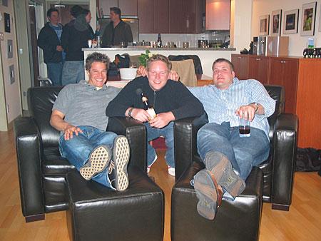 Jude, Jeremy, and Scott