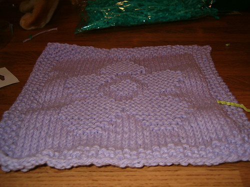 Flower Washcloth