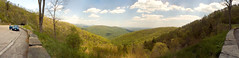 Skyline Drive Overlook Panorama