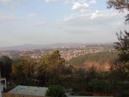 Kigali landscape