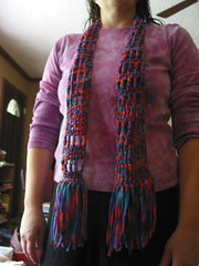 Ticket Tape/Ribbon Scarf