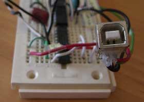 PIC18F2550 USB HID Oscilloscope