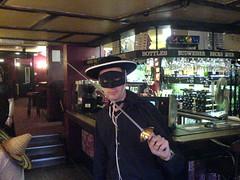 Zorro in the pub