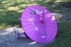 Pretty Parasol & Purple, Sparkly Shoes