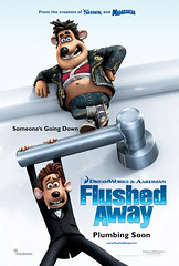 Flushed Away Teaser Poster