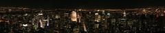 Manhattan Night Panorama