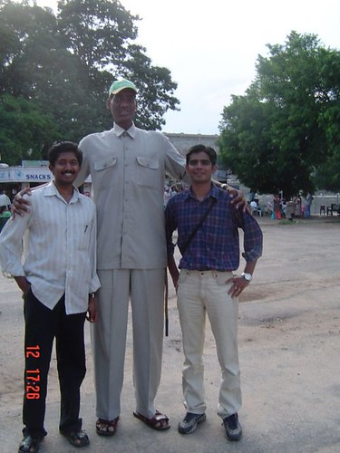 Mr.Tall is back....