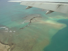 Reef while Landing on Hawaii