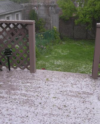 spring hail storm