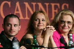 Elijah Wood, Miranda Richardson y Gena Rowlands