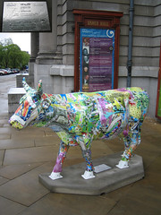 No 29 Urbantrude at Edinburgh Cow Parade 2006