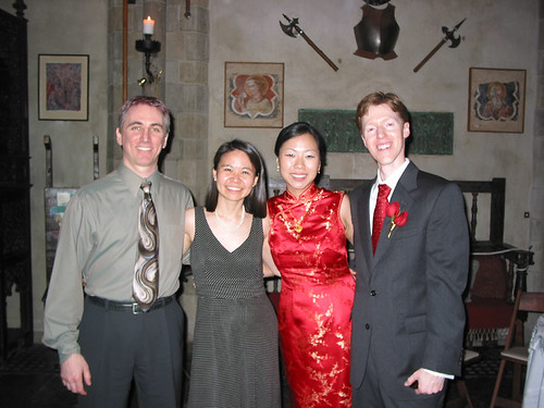 Us with the bride and groom