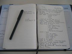 Moleskine in action