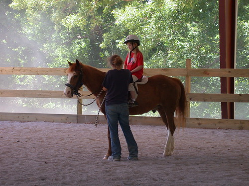 horse-lride