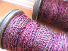Spinning Corriedale