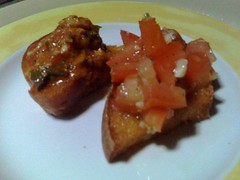 Bruschetta of Fish & Tomato