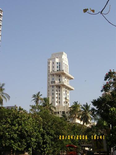 An artistic corporate high-rise near Nariman Point, Mumbai