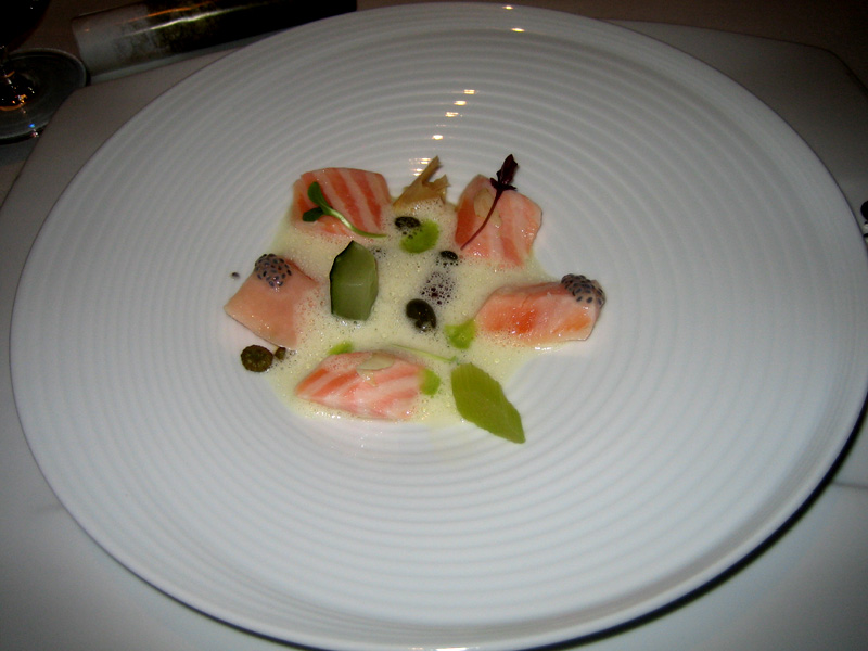 El Bulli - Salmon Belly w/ Pickles