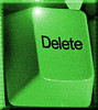 Green-delete-key