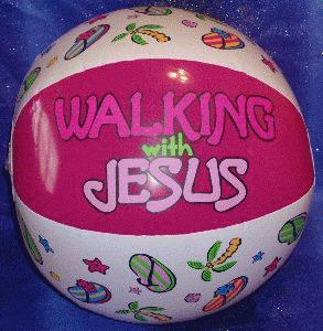 walkingwithjesusbeachball