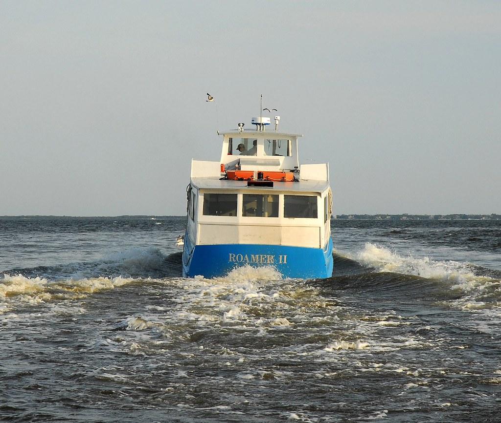 Fire Island: Beach, Boats And More...: Roamer II...Ferry To Fire Island