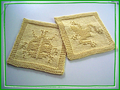 garden dishcloths