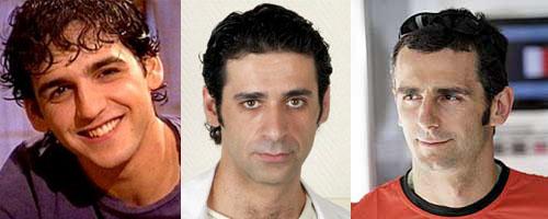 Parecido razonable de Fran Perea, Nacho Fresneda y Pedro Martínez de la Rosa