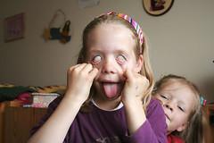 Silja playing silly