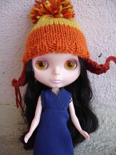 Blythe-size Jayne Cobb hat