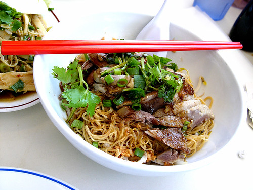 yai thai duck noodles
