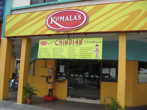 Komalas introducing Chindian..!!!